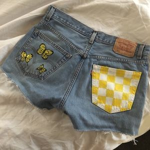 Hand painted Levi's